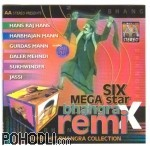Six Mega Star Bhangra Remix - Super Hit Bhangra Collection (CD)