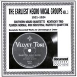 Various Artists - The Earliest Negro Vocal Groups (CD)