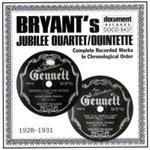 Bryant's Jubilee Quartet / Quintette - Volume 1 (1928 - 1931) (CD)