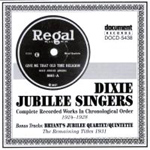 Dixie Jubilee Singers - Volulme 2 (1924 - 1931) (CD)