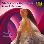 Emad Sayyah - Modern Belly Dance from Lebanon - The Dance of the Princess CD