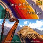 Pablo Carcamo & Oscar Benito - Harp & Flutes from the Andes (CD)