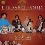 The Sabri Family - Sarangis and Tabla –5 Ragas (CD)