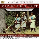 Deben Bhattacharya - Musical Explorers - Music of Tibet (CD+DVD)