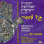 Orchestre Andalou d'Israel with Jo Amar - Qasidat Yossef (CD)