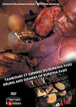 Various Artists - Drums and Djembes of Burkina Faso (DVD)