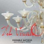 Ensemble Matheus Spinosi JeanChristophe 1er violon - Vivaldi - Coffret des Concerti con molti strumenti (2CD)