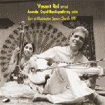 Vasant Rai - Ragas: Darbari Kanaka, Zira Kafi (CD)