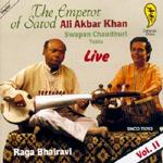 Ali Akbar Khan - Raga Bhairavi Vol.2 (CD)