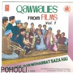 Various Artists - Qawwalies from Films Vol.1 (CD)