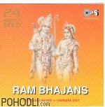 Roopkumar Rathod & Chandana Dixit - Ram Bhajans - 24 Karat Gold (CD)