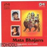 Sonu Nigam & Alka Yagnik - 24 Karat Gold - Mata Bajans (CD)